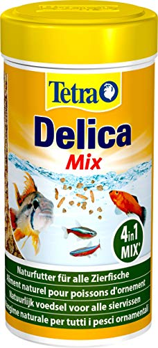 TetraDelica Natural Snack 4-in-1-Mix, Naturfutter-Mischung vier separaten...