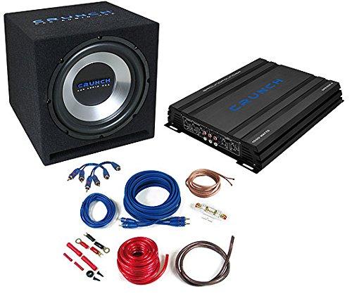 Crunch CBP1000– Audio-Verstärker fürs Auto (schwarz, 50–250Hz,...