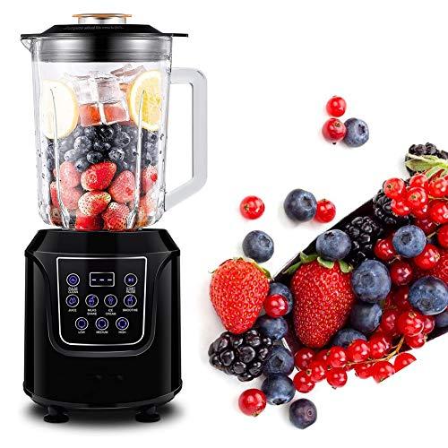 ONINO Standmixer, Smoothie Maker Mixer 1,5L Glasbehälter Power Blender mit LED...