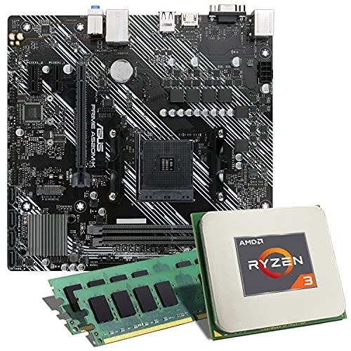 Mainboard Bundles ASUS Prime A520M-K (16GB RAM, AMD Ryzen 3 4300GE)