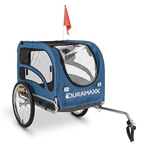 Duramaxx - King Rex, Fahrradanhänger, Hundeanhänger, Lastenanhänger, kleine...