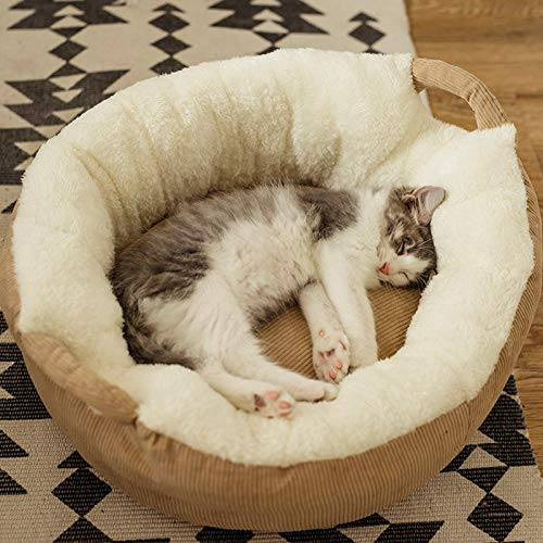not Doghouse Abnehmbare waschbare Schlafmatte Cathouse Pet Supplies-Coffee...