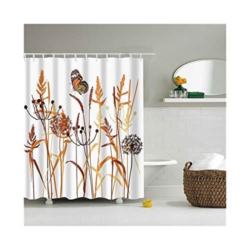 LHYLHY Dekorative Badezimmer Sitzwanne Printed Frabic Wasserdicht Polyester Bad...