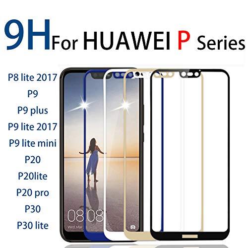 KDLLK 9H Gehärtetes Glas, Für Huawei p20 p30 lite Vollbildschutz, Für Huawie...