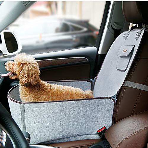 JICCH Autositz für Hunde,Haustiere Autositz,Sitzerhöhung für Hunde,Hund...