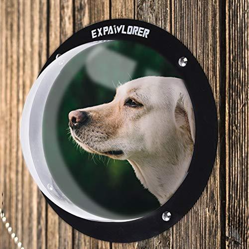 EXPAWLORER Hundezaun-Fenster für Haustiere, langlebige Acryl-Hundekuppel für...