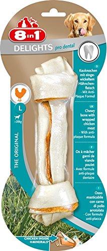 8in1 Delights Pro Dental, gesunde Kauknochen / Kaustangen für Hunde zur...