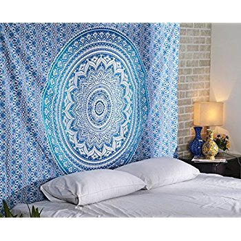 Aakriti Gallery Tapestry Queen Ombre Hippie Tapestries Mandala Bohemian...