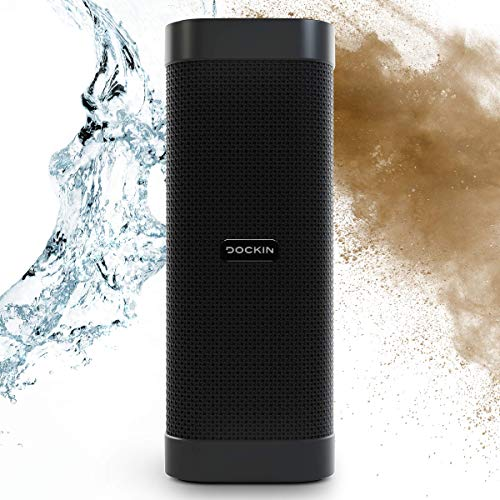 DOCKIN® D Mate Portable Bluetooth Lautsprecher, 25 Watt Outdoor Speaker mit...