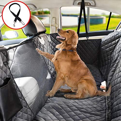 Vailge Autoschondecke für Hunde Rücksitz rutschfeste Hundedecke Auto Rückbank...
