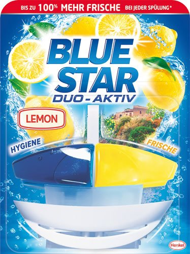 BLUE STAR Duo-Aktiv Lemon - 8X 1 Stück