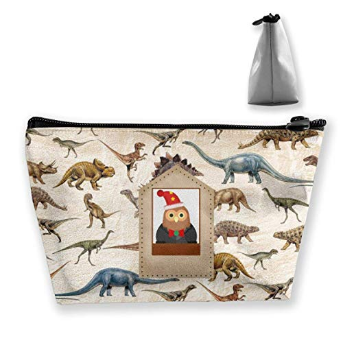 The Leopard Makeup Bag Gro?e Trapez Aufbewahrungstasche Reisetasche...