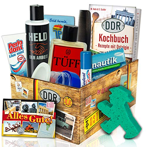 Geschenk Ideen Männer / Pflege Set DDR / DDR Artikel