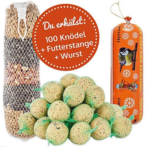 zooprinz Frische Meisenknödel mit Netz – Ideal für alle Vögel als...