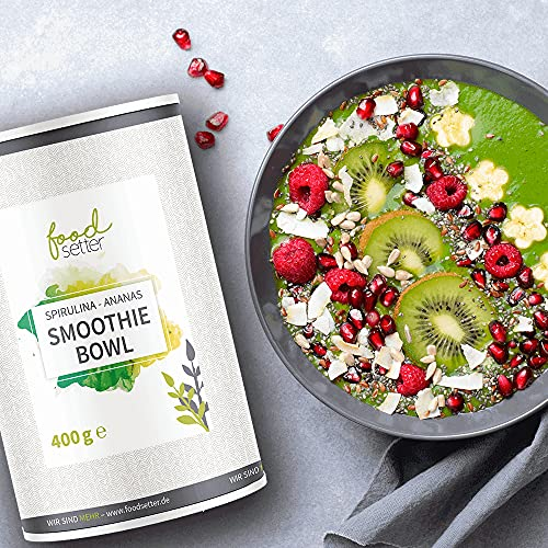 Food setter Smoothie Bowl Spirulina- Ananas | Beerenfieber | Schnelles...