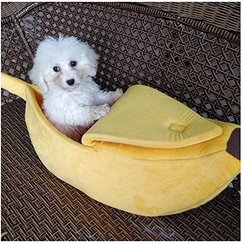 N/A Schöne Bananenform Haustiere Katzenbett Bett Flauschige Weiche Hundehütte...