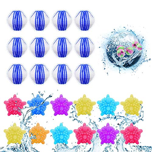Waschbälle,Waschmaschine Ball,Wäschekugel flusenfreie,Reinigungs Ball,Haustier...