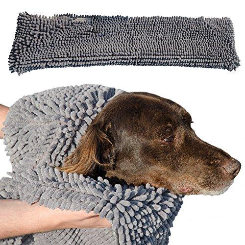 Soggy Doggy Mikrofaser-Handtuch, 81 x 35 cm, saugfähig, Mikrofaser, 81 x 35 cm,...