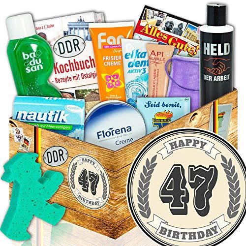 Pflege Box DDR - 47 Geburtstag - Geschenke zum 47 Geburtstag für Mama