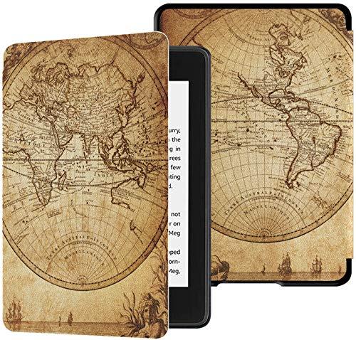 Kindle Cover Paperwhite 2018 Weltkarte mit Ländergrenzen Kindle Paperwhite...