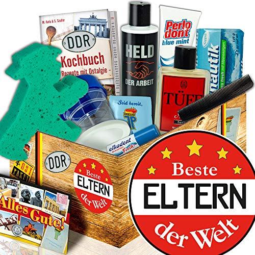 Beste Eltern der Welt / DDR Pflege Box Mann / Geschenk Hochzeit Eltern