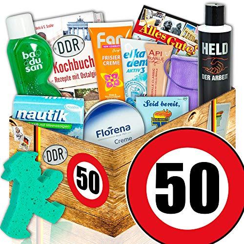 50. Geburtstag Geschenk Idee - Pflegebox DDR - lustige geschenke 50. geburtstag