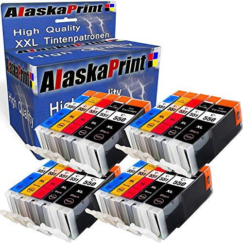 20 Set Druckerpatronen Komp. für Canon PGI550 XL CLI551 XL PGI550xl CLI551xl...
