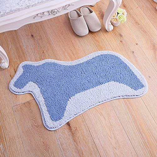 Zun068 Badteppich Wohnzimmerteppich Küche Eingangstürteppich Badvorleger Pony