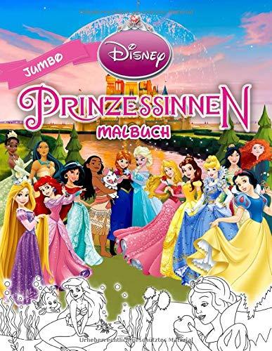 Disney Prinzessinnen Malbuch: Prinzessinnen Jumbo Malbuch Mit Qualitativ...