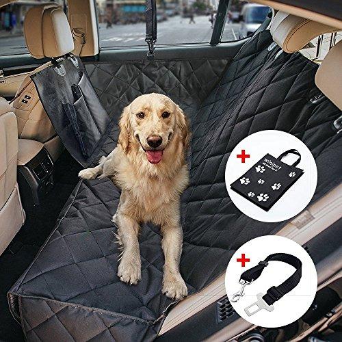 Wasserdichte Hunde Autoschondecke mit Seitenschutz & Reißverschlüsse &...