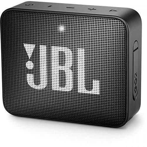 JBL GO 2 Bluetooth-Lautsprecher Musikbox (Wasserfester, portabler...