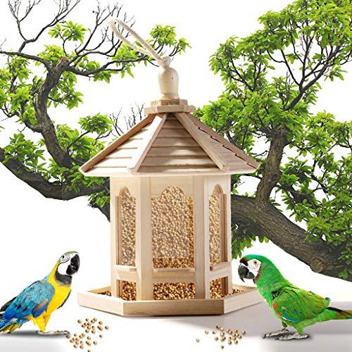 Hahuha Holz DOX, Hölzerner Vogelhäuschen, das für das...