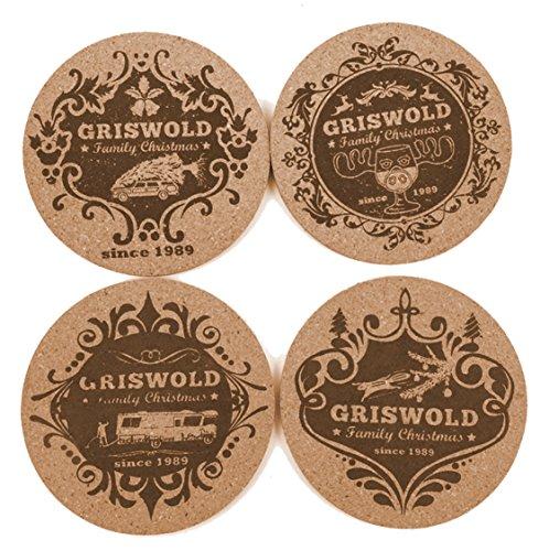 Schöne Bescherung Griswold Family Christmas Kork Untersetzer für Moose Mugs...