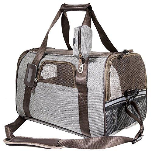 SCM Pets Fluggesellschaft zugelassen weichen Faltbox, Hand tragen tragbar Tasche...
