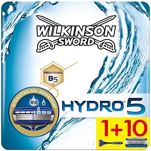 Wilkinson Sword Hydro 5 Herren Rasierer Starterset mit 10 Rasierklingen...