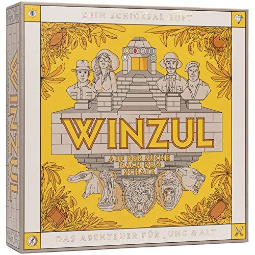 WINZUL - Das Abenteuer Brettspiel für Jung & Alt - Gesellschaftsspiel ab 10...