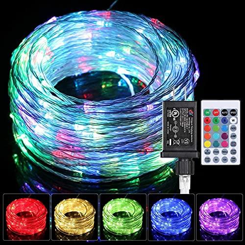 LED Schlauch 20m Lichtschlauch Außen mit Stecker,Lichtschläuche Lichterkette...