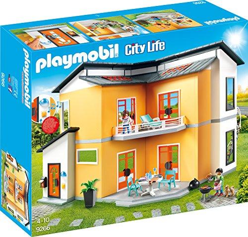 Playmobil City Life 9266 Modernes Wohnhaus, Mit Licht- und Soundeffekten, Ab 4...