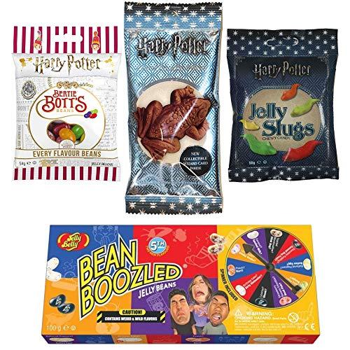 Jelly Belly Harry Potter Schokoladen Frosch (15 g) und Jelly Slugs (59 g) und...