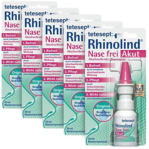 tetesept Rhinolind Nase frei Abschwellendes Nasenspray – Nasenspray...