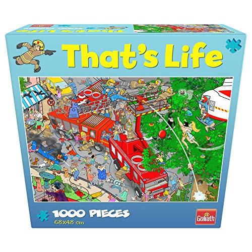 Goliath 919260006 That's Life Brigada Feuerwehr-Puzzle, bunt