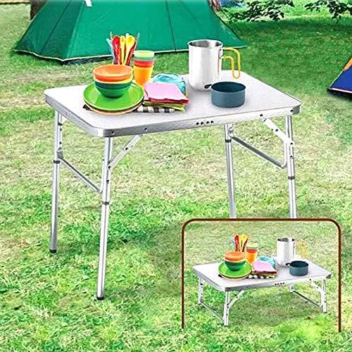 Alu Campingtisch Klapptisch 75 x 55cm nur 3.2 Kg. Gartentisch Camping Tisch...