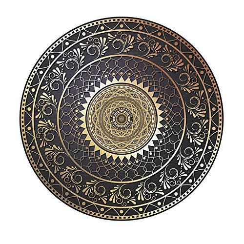 WQ-BBB Teppich Staubdicht schalldicht Teppiche Retro minimalistisches Design...