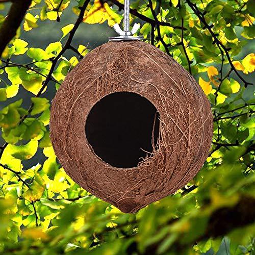 CLIUS Vogelkäfig, warmes Spielzeug, Haus, natürliche Dekoration,...