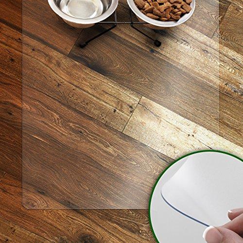 Napfunterlage für Hunde und Katzen | rutschfeste und abwaschbare Unterlegmatte...