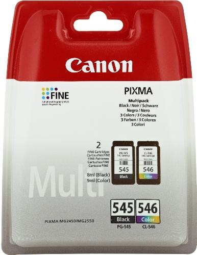 Canon PG-545+CL-546 original Tintenpatrone  Schwarz und Mehrfarbig für Pixma...